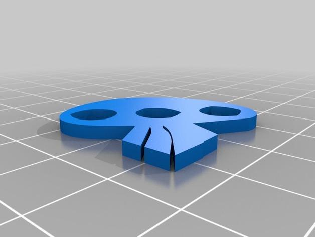 乌基布基头像的骰子 3D模型  图6