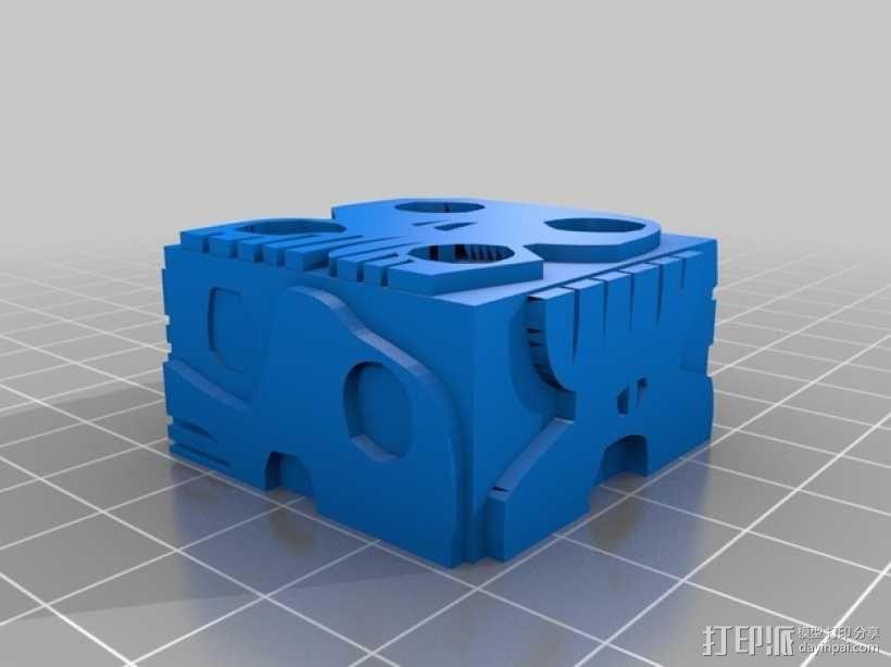 乌基布基头像的骰子 3D模型  图11