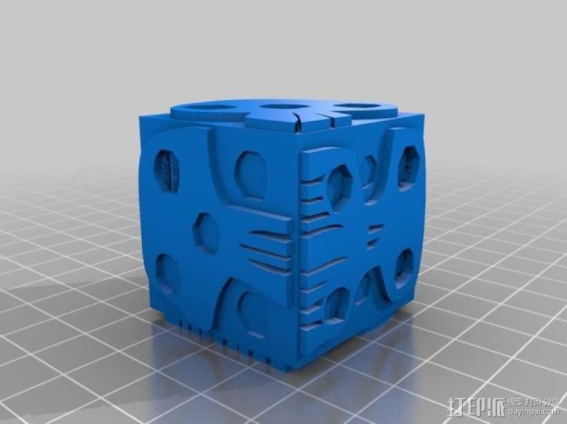 乌基布基头像的骰子 3D模型  图12