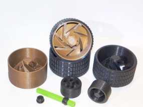 车轮工具包模型 3D模型