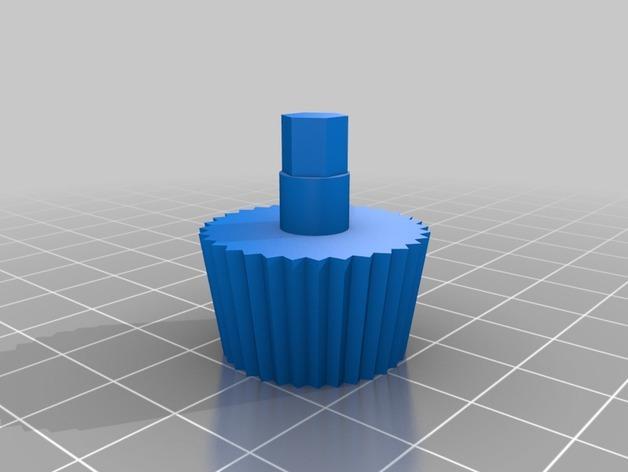 汽车弹簧减震器 3D模型  图2