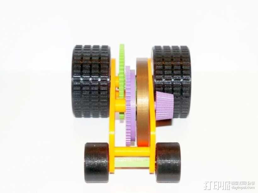汽车弹簧减震器 3D模型  图5
