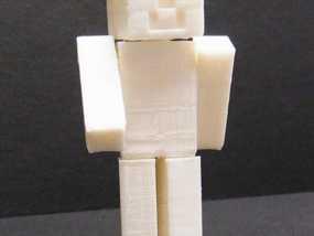 游戏《Minecraft》中人物模型 3D模型