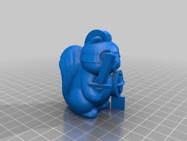 """迷你""""骑士""""模型 3D模型  图2"""