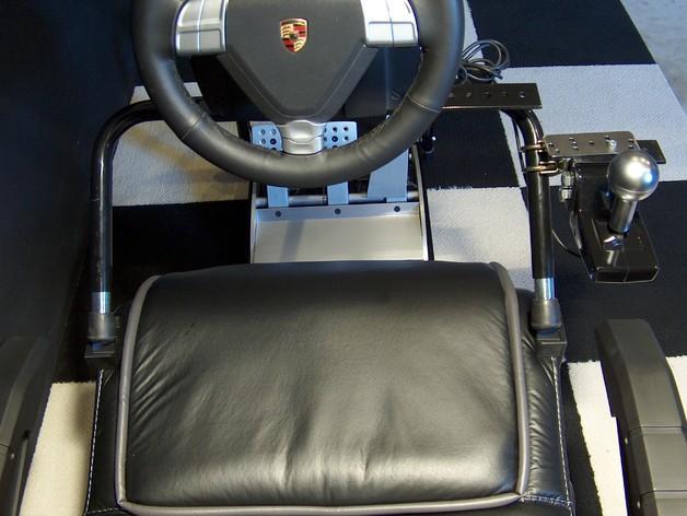 赛车游戏手柄支架模型 3D模型  图5
