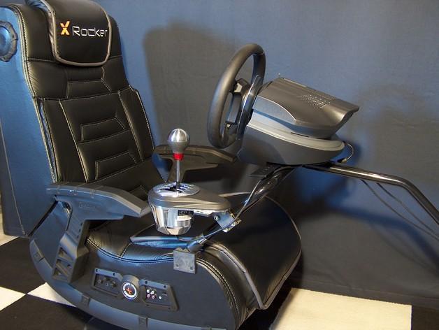赛车游戏手柄支架模型 3D模型  图6