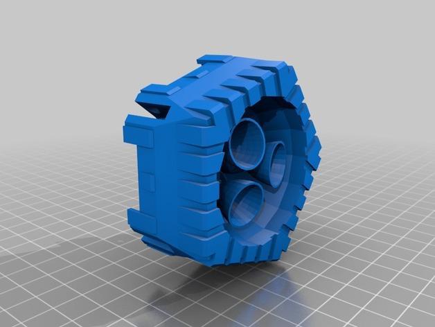 战争游戏中火箭模型 3D模型  图4