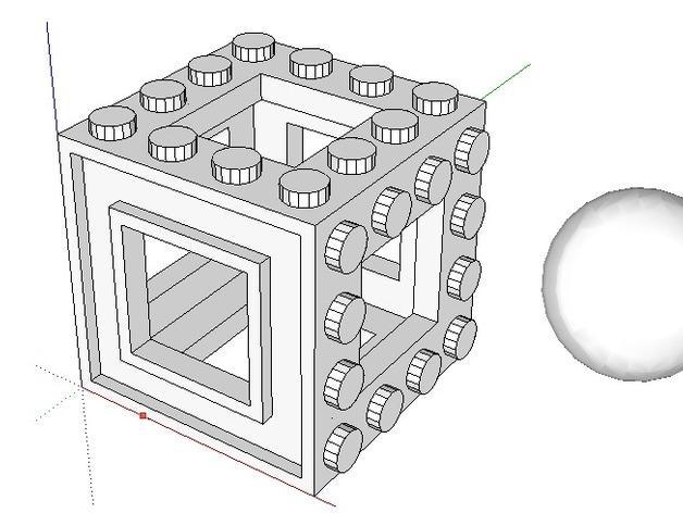 3D打印的迷宫 3D模型  图5