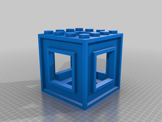 3D打印的迷宫 3D模型  图4