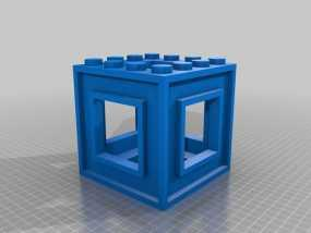 3D打印的迷宫 3D模型