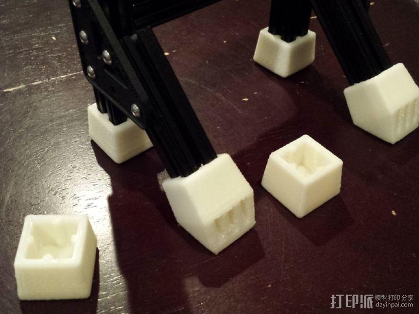 OpenBeam打印物品的保护套 3D模型  图1