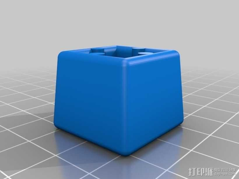 OpenBeam打印物品的保护套 3D模型  图2