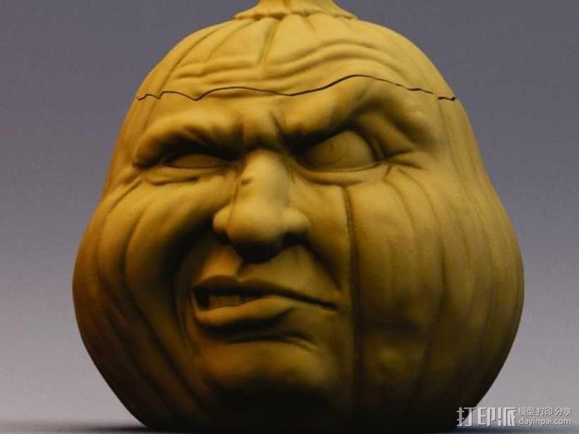 Grumpkin糖果罐 3D模型  图1