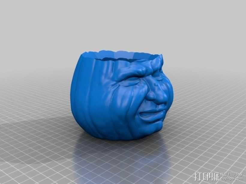 Grumpkin糖果罐 3D模型  图3