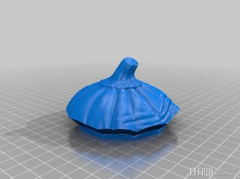 Grumpkin糖果罐 3D模型  图2