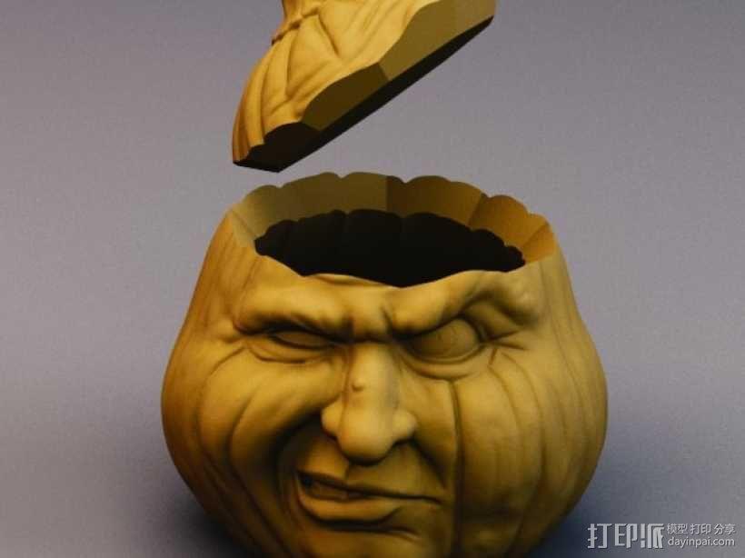 Grumpkin糖果罐 3D模型  图6