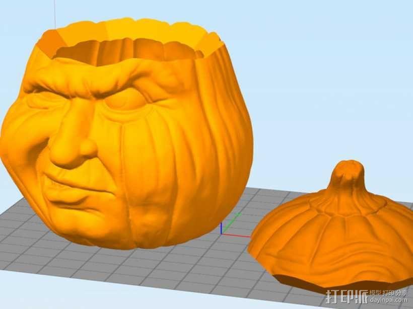 Grumpkin糖果罐 3D模型  图7
