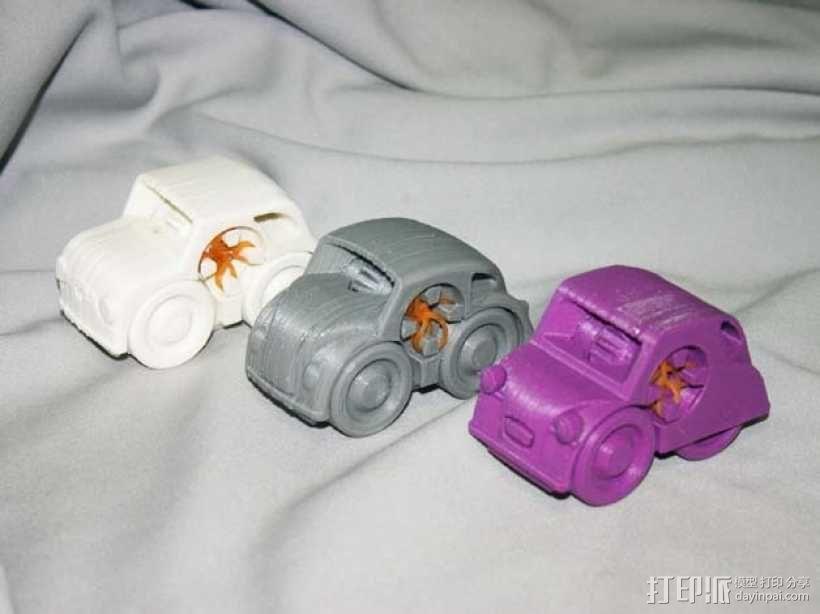 迷你小汽车模型 3D模型  图1