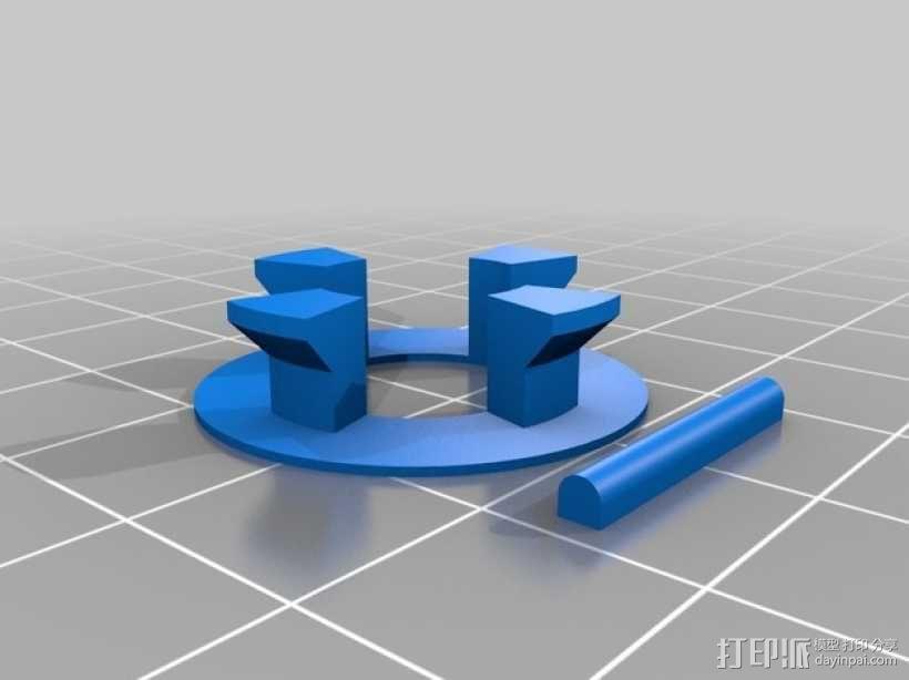 迷你小汽车模型 3D模型  图5