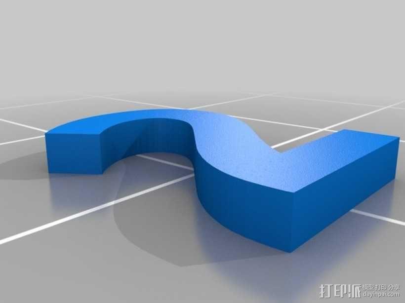双色骰子 3D模型  图5