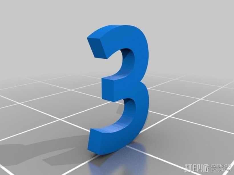 双色骰子 3D模型  图6