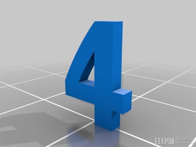 双色骰子 3D模型  图7