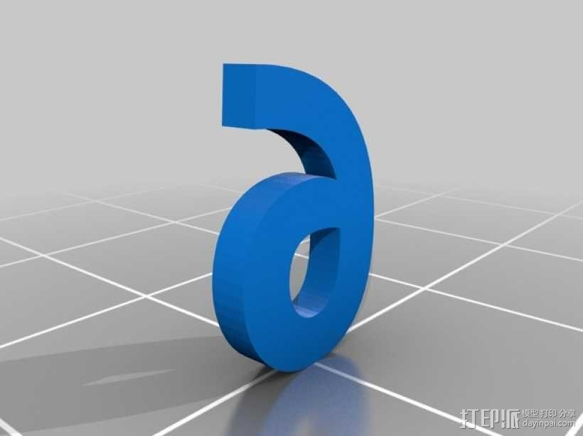 双色骰子 3D模型  图9