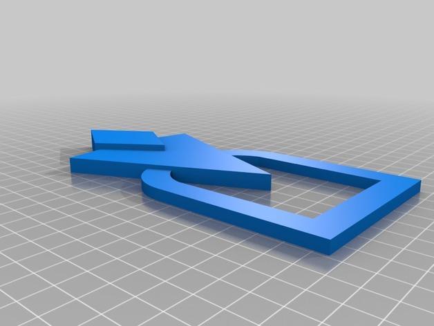 游戏《天际》中的门饰板模型 3D模型  图2