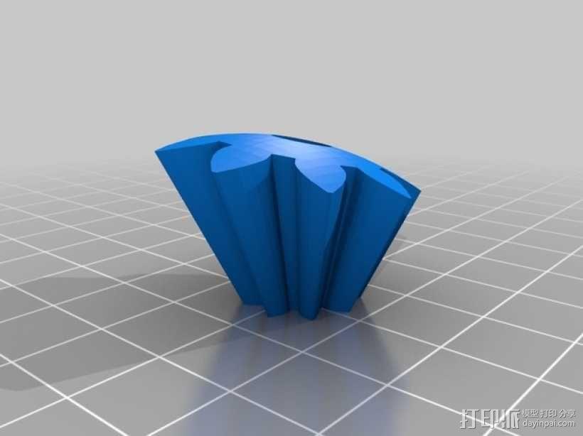机动化的偏心球齿轮装置 3D模型  图7