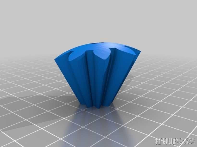 机动化的偏心球齿轮装置 3D模型  图9