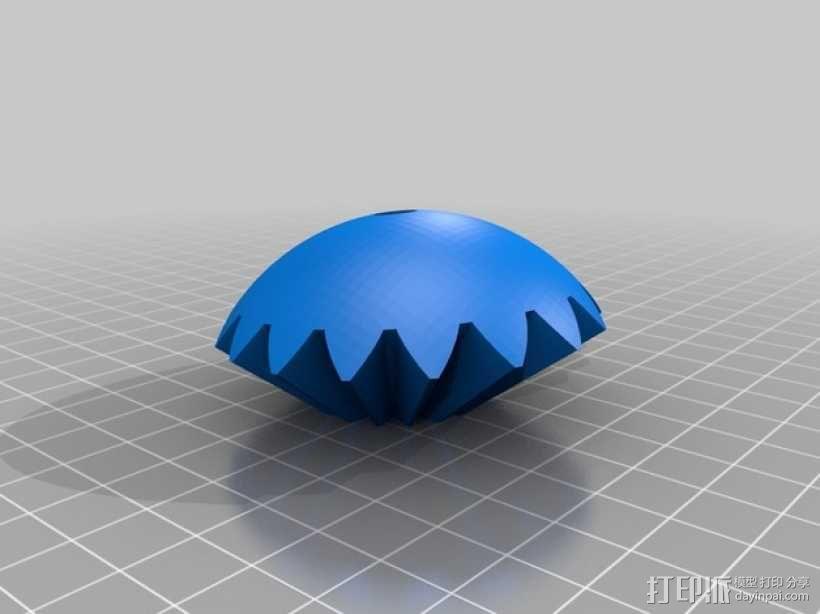 机动化的偏心球齿轮装置 3D模型  图13