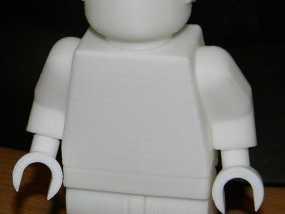 乐高玩偶模型 3D模型