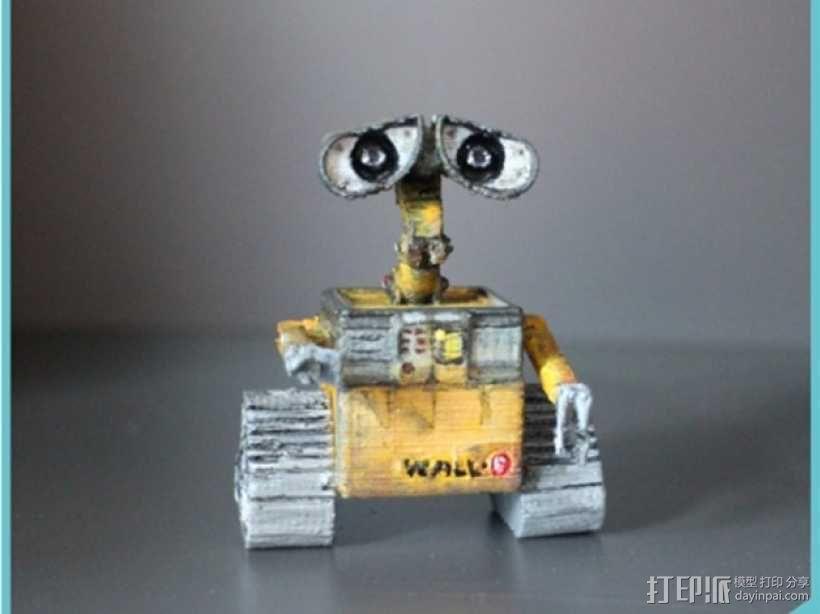 电影《机器人总动员》玩偶 3D模型  图1