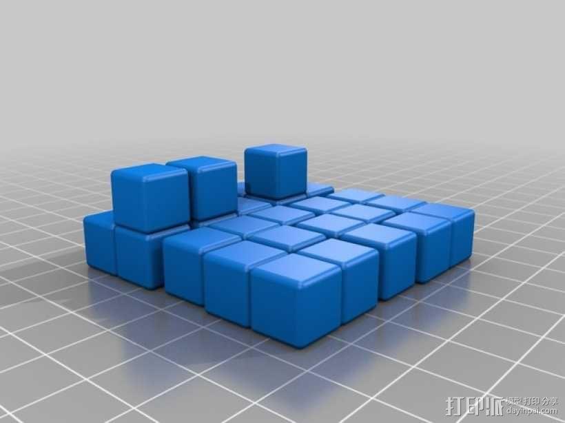 索玛立方块模型 3D模型  图1