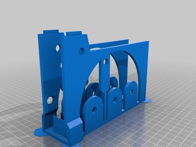 迷你跑步机装置 3D模型  图2