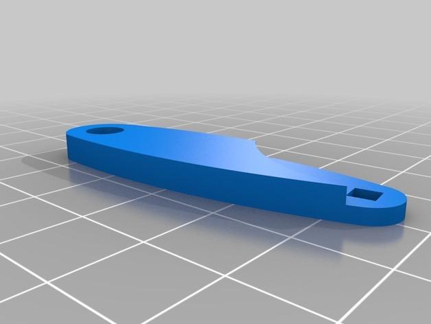 迷你跑步机装置 3D模型  图6