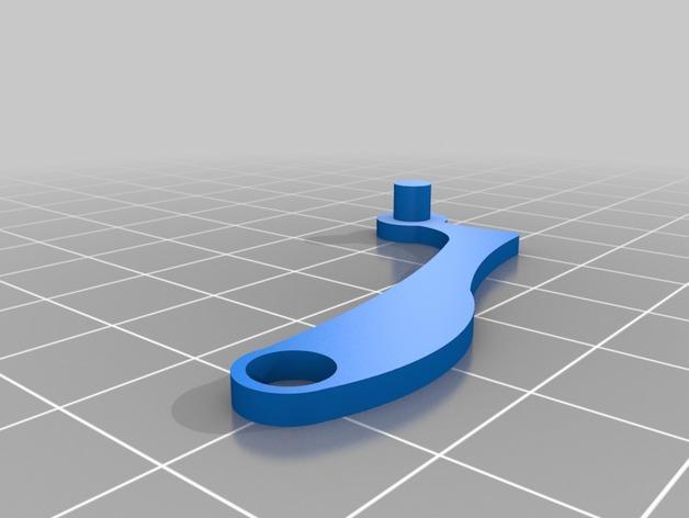 迷你跑步机装置 3D模型  图7