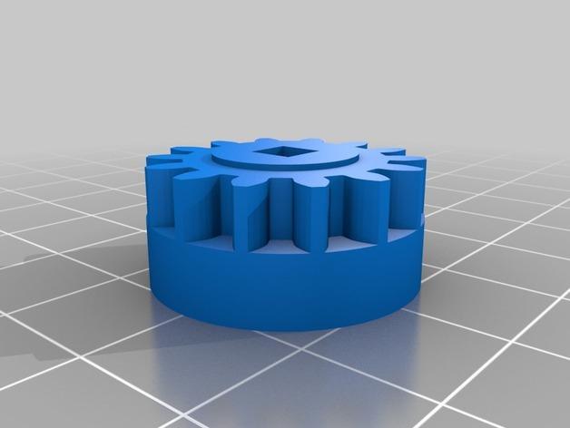 迷你跑步机装置 3D模型  图20