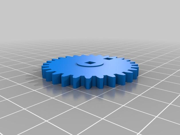 迷你跑步机装置 3D模型  图21