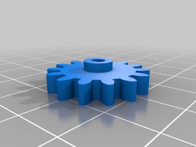 迷你跑步机装置 3D模型  图22