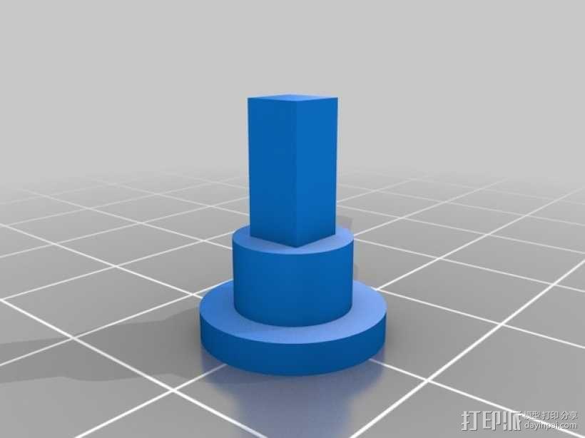 迷你跑步机装置 3D模型  图29