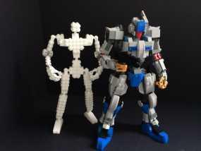 乐高积木玩具 3D模型