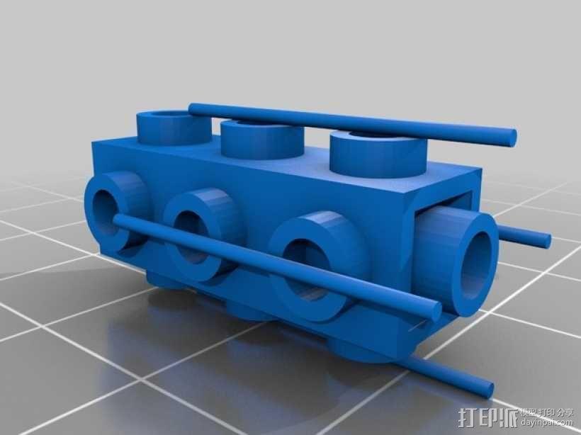 乐高积木玩具 3D模型  图2