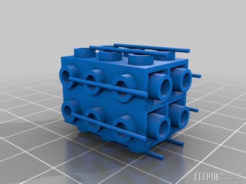 乐高积木玩具 3D模型  图4