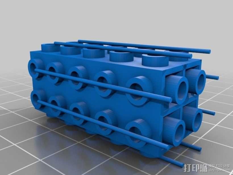 乐高积木玩具 3D模型  图5