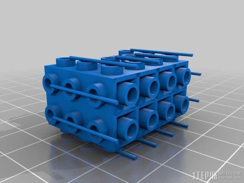 乐高积木玩具 3D模型  图6