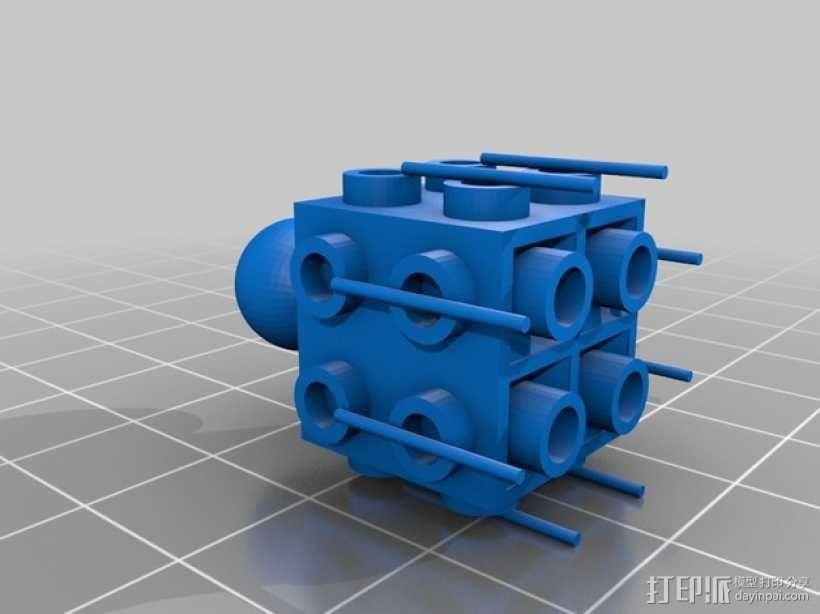 乐高积木玩具 3D模型  图7