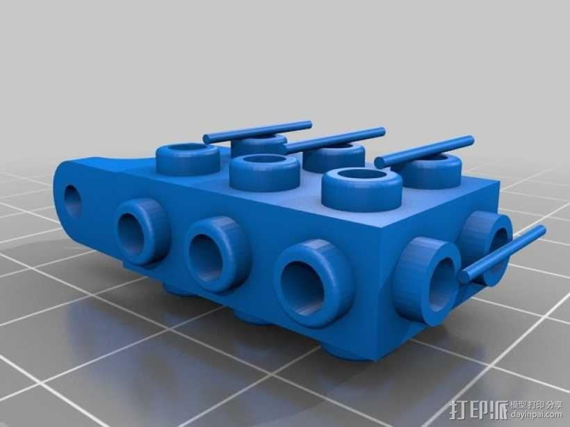 乐高积木玩具 3D模型  图8