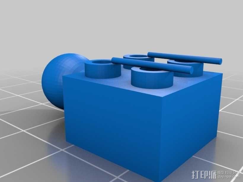 乐高积木玩具 3D模型  图16