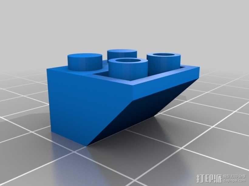 乐高积木玩具 3D模型  图15